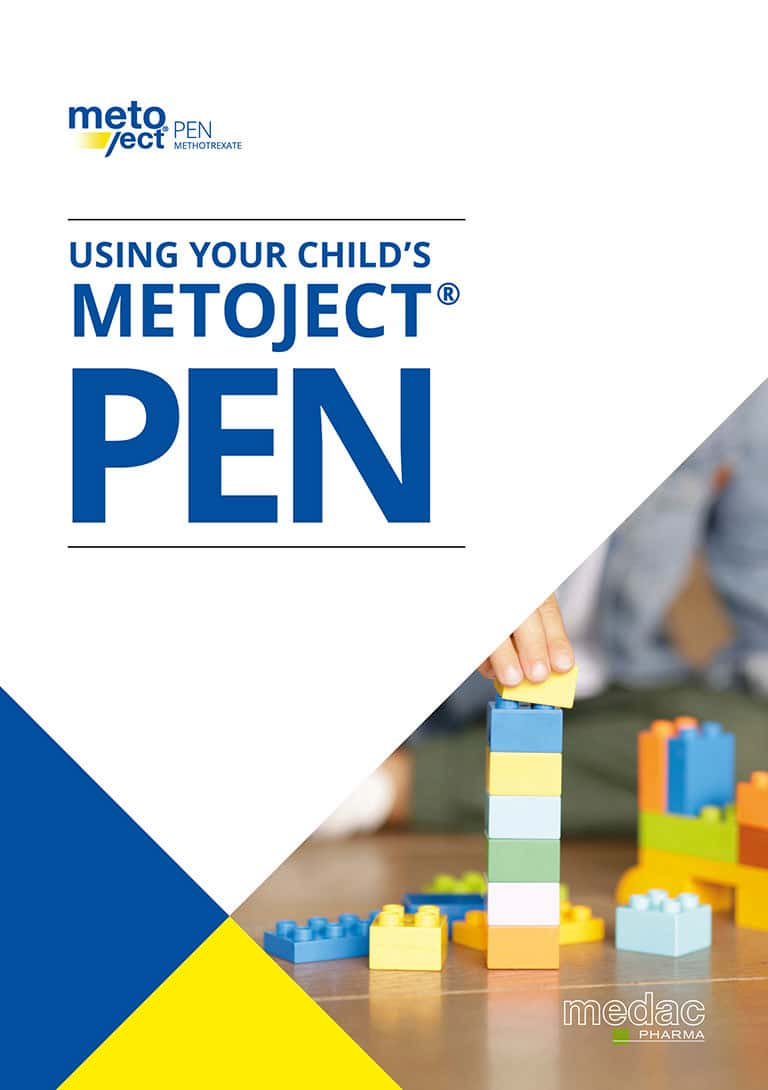 Metoject® PEN children's administration guidelines PDF download